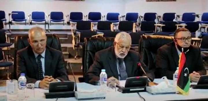 صورة إختتام أعمال لجنة إعداد الميزانية الموحدة برئاسة وزير الخارجية