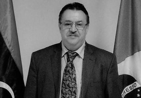 صورة وزارة الخارجية تنعى السفير خالد دهان